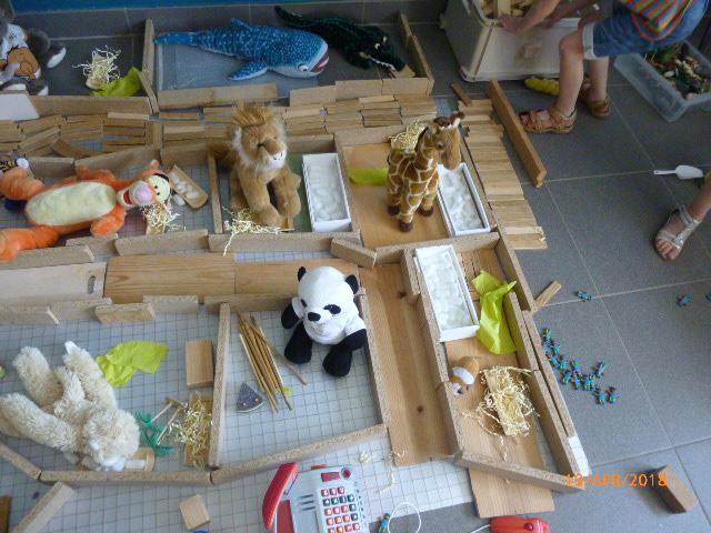 Uitzonderlijk thema wilde dieren in de vlinderklas! – VBS De Bloesem @EP16